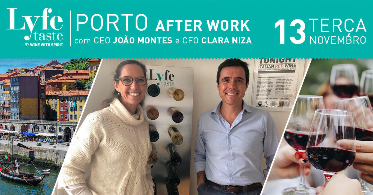 AFTER WORK com CEO e CFO - Porto