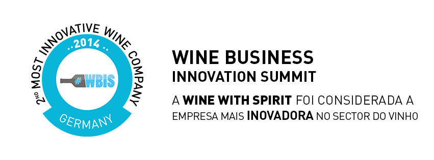 WINE WITH SPIRIT A MAIS INOVADORA A NÍVEL MUNDIAL